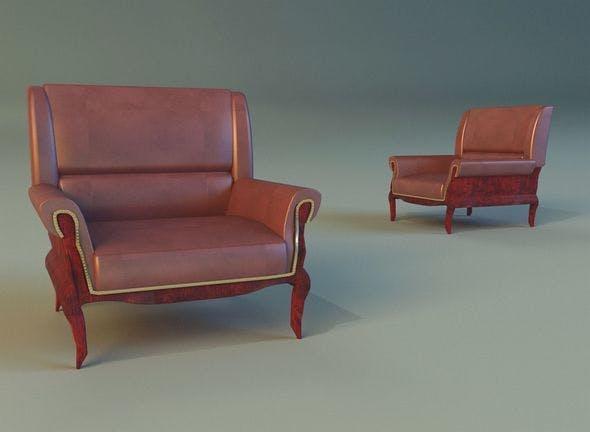 Armchair ancient - 3DOcean Item for Sale