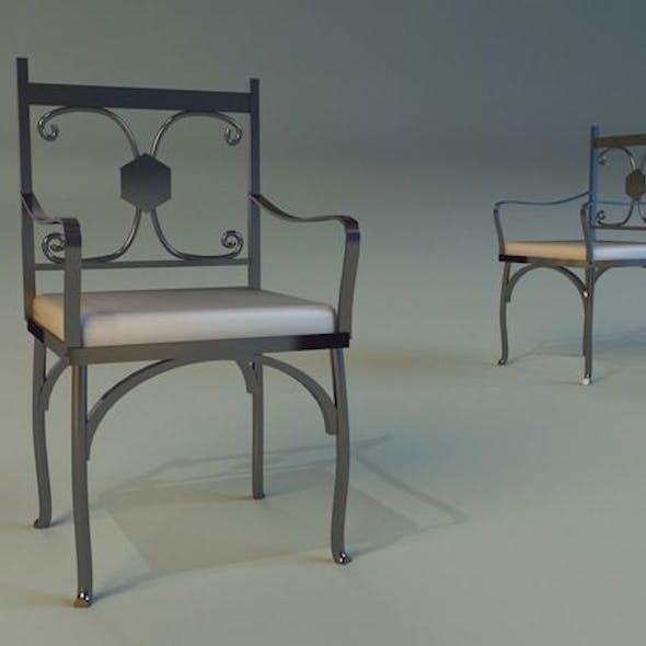 Chair metal kitchen II