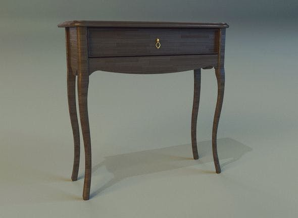 Commode dark - 3DOcean Item for Sale