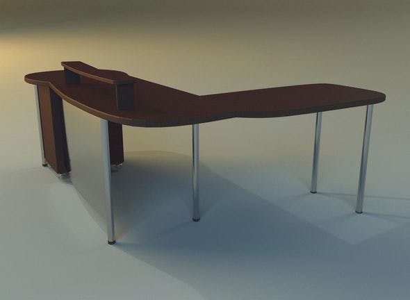 Computer table boss - 3DOcean Item for Sale