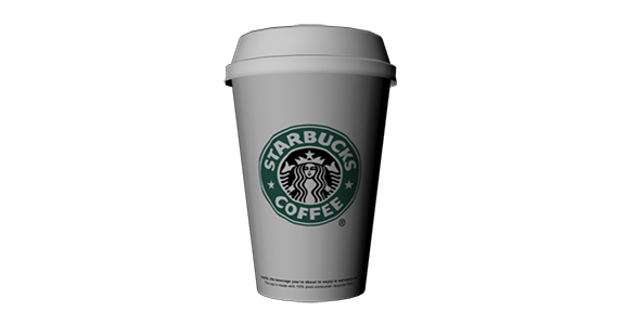 Starbucks coffee - 3DOcean Item for Sale