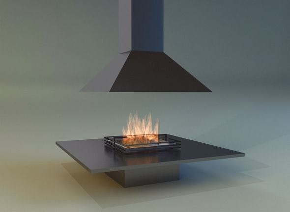 Fireplace 5 - 3DOcean Item for Sale