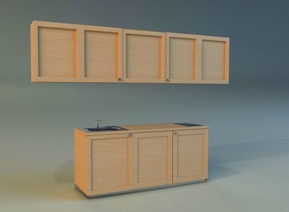 Kitchen 1 - 3DOcean Item for Sale