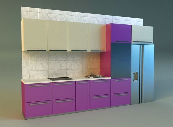 Kitchen 2 - 3DOcean Item for Sale