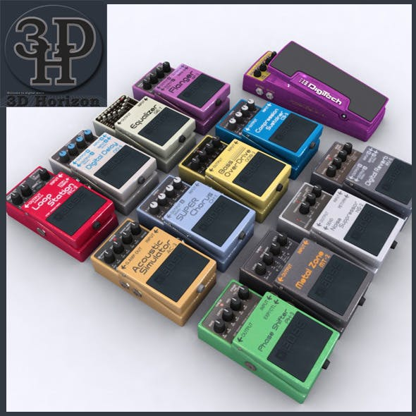 Boss Guitar Effect Collection