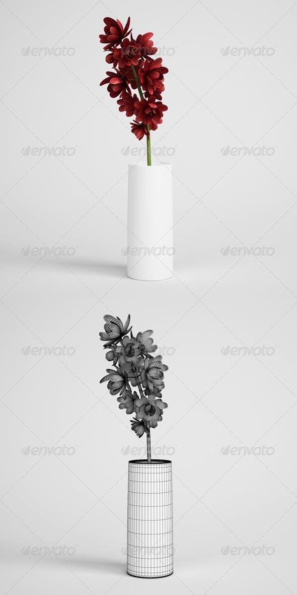CGAxis Flowers in Vase 12 - 3DOcean Item for Sale