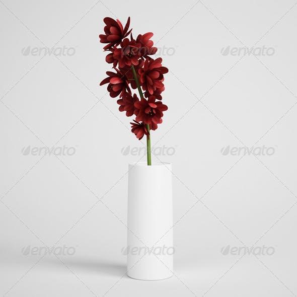 CGAxis Flowers in Vase 12