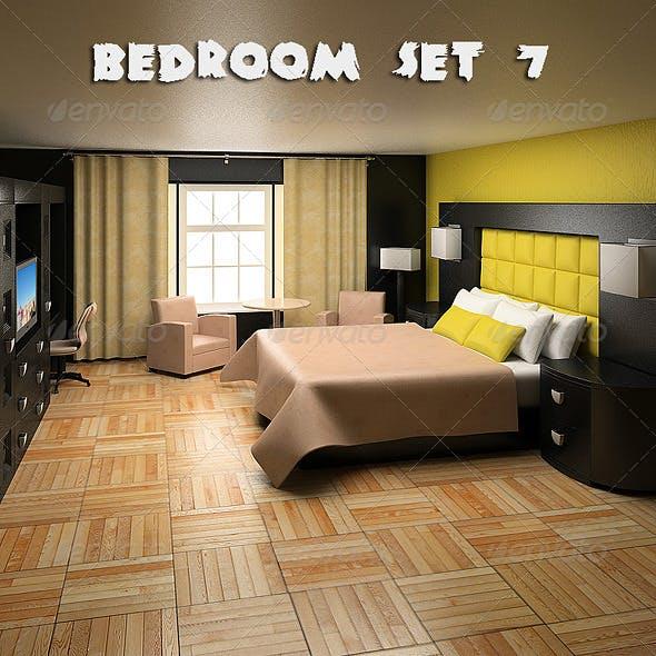 Bedroom Furniture 07 Set - 3DOcean Item for Sale