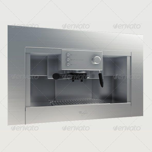 Coffe Machine - 3DOcean Item for Sale