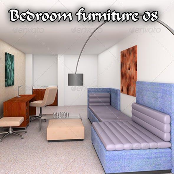 Bedroom Furniture 08 Set - 3DOcean Item for Sale