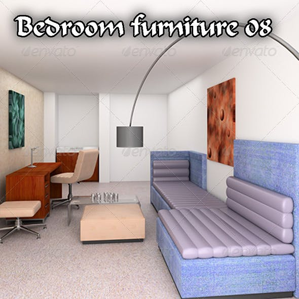 Bedroom Furniture 08 Set