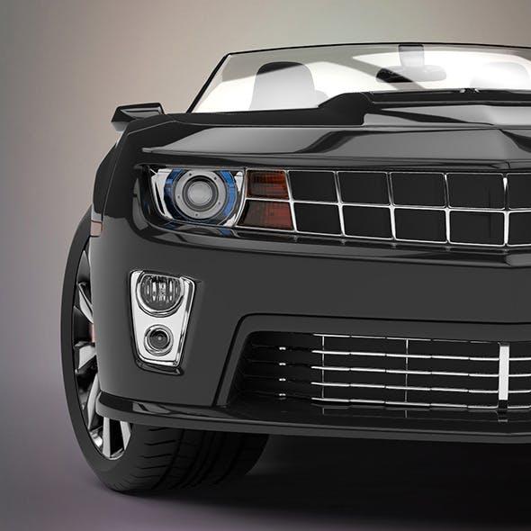 Convertible sport car - 3DOcean Item for Sale