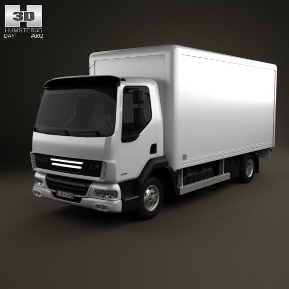 DAF LF Delivery Truck 2011