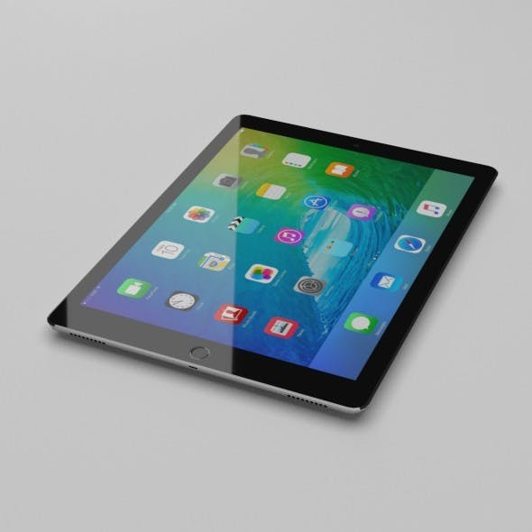 Low Poly iPad Pro