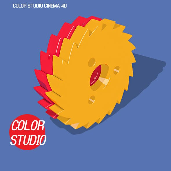 Color studio cinema 4D