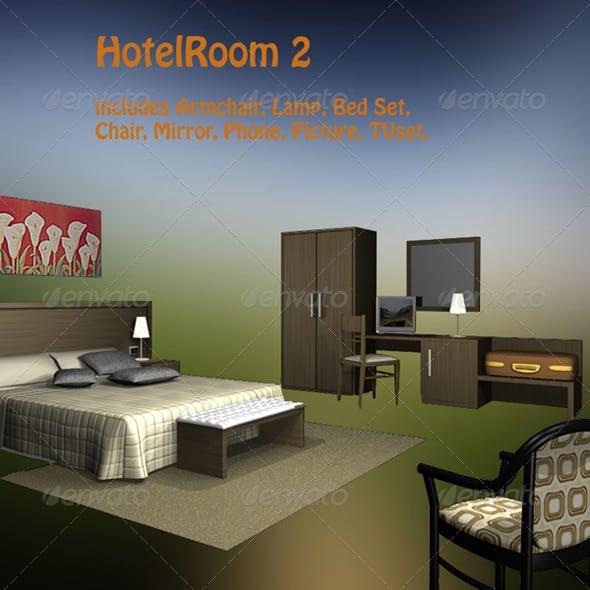 Hotel Room 2 - 3DOcean Item for Sale