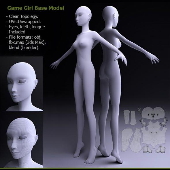 Game Girl Base Model