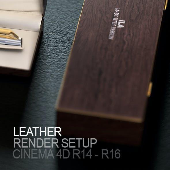 Leather Render Setup