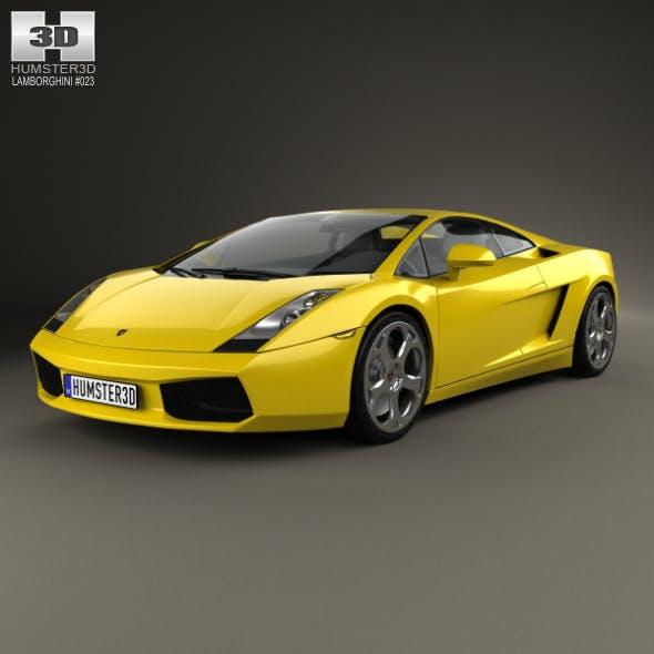 Lamborghini Gallardo 2003 - 3DOcean Item for Sale