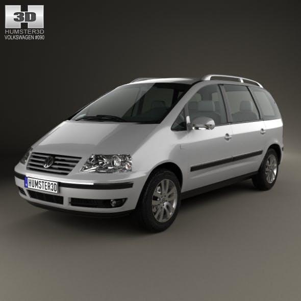 Volkswagen Sharan 2004 - 3DOcean Item for Sale