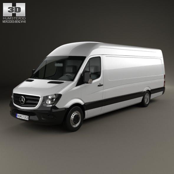 Mercedes-Benz Sprinter Panel Van ELWB HR 2013 - 3DOcean Item for Sale
