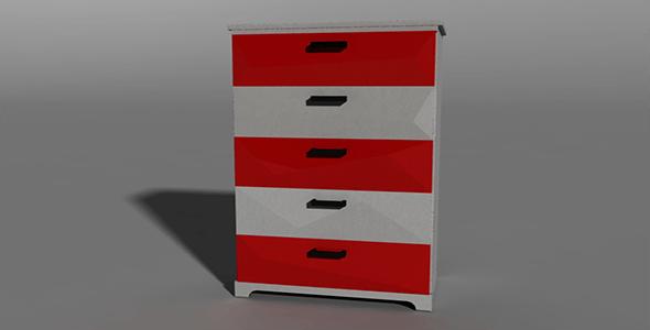 Cabinet 3_01 - 3DOcean Item for Sale