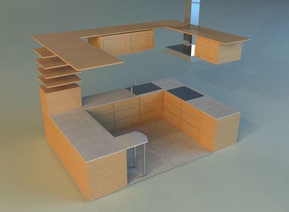 Kitchen 10 - 3DOcean Item for Sale