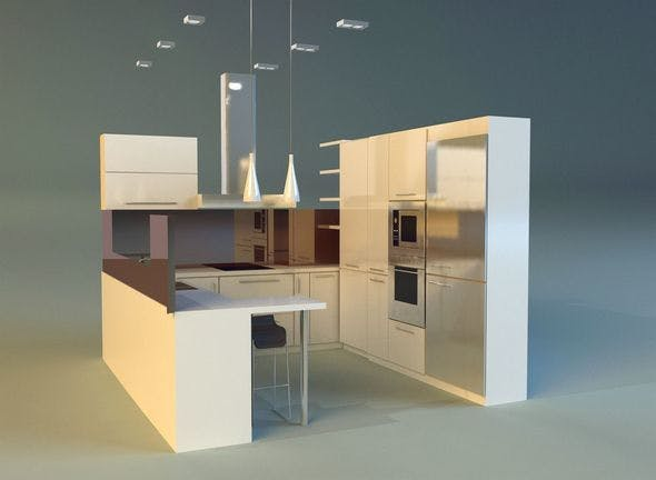 Kitchen 18 - 3DOcean Item for Sale