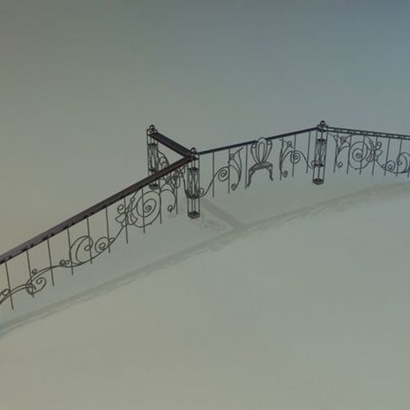Forged railing