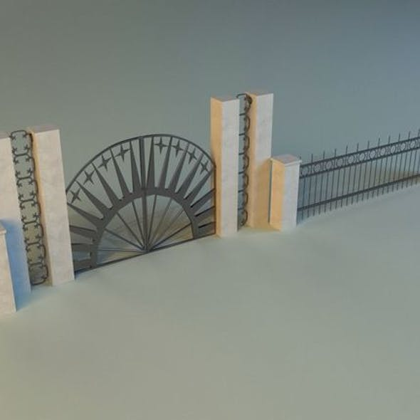Forged railing 2