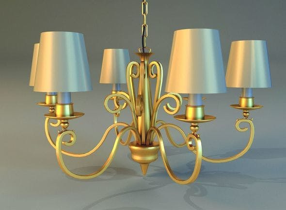 Lamp 01 - 3DOcean Item for Sale