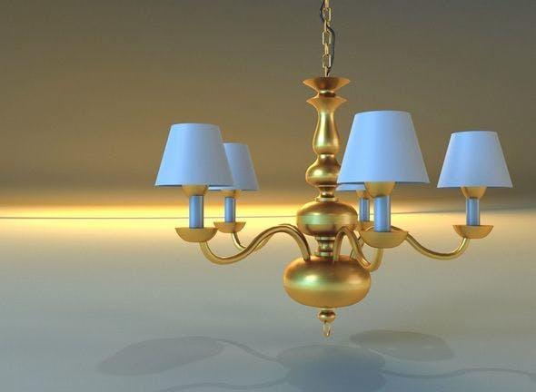 Lamp 02 - 3DOcean Item for Sale
