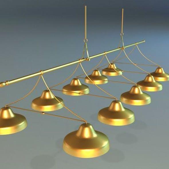 Lamps billiards