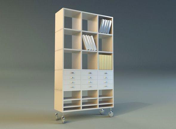 Cabinet 4 - 3DOcean Item for Sale
