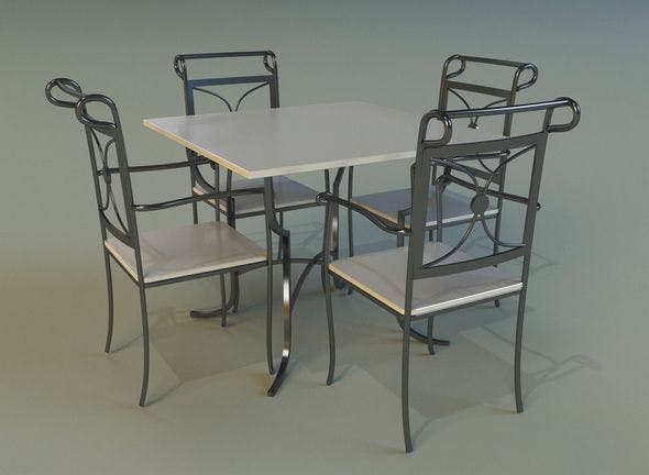 Table 9 - 3DOcean Item for Sale