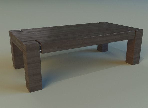 Table 18 - 3DOcean Item for Sale