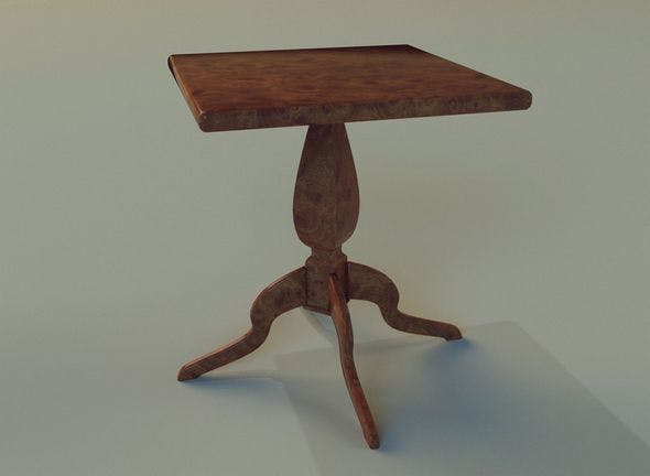 Table 28 - 3DOcean Item for Sale