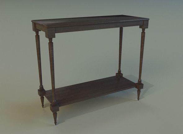 Table 29 - 3DOcean Item for Sale