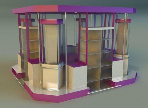 Trade pavilion 1 - 3DOcean Item for Sale