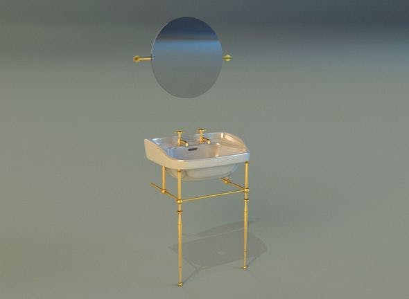 Washbasin 11 - 3DOcean Item for Sale