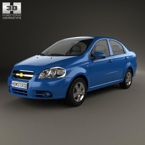 Chevrolet Aveo (T250) sedan 2006 - 3DOcean Item for Sale