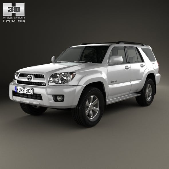 Toyota 4Runner 2005 - 3DOcean Item for Sale