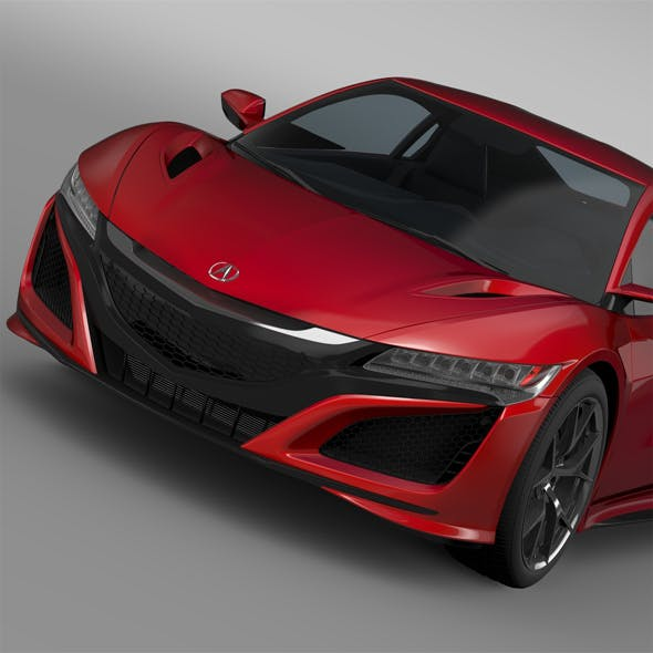 Acura NSX 2016 By Creator_3d