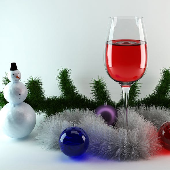 christmas bells and magic snowmen