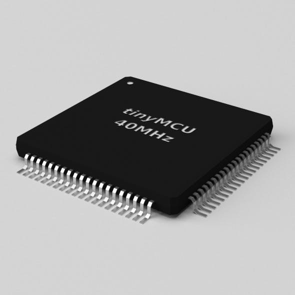 Controller TQFP80 - 3DOcean Item for Sale