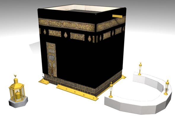 The Kaaba 3D Model by Harry2309 | 3DOcean