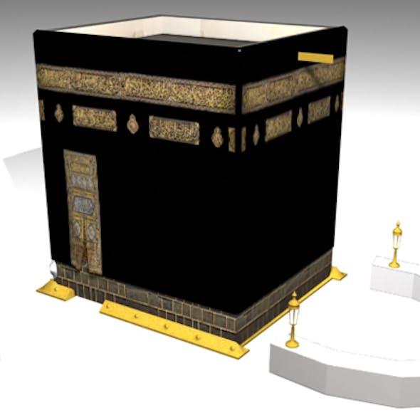 The Kaaba 3D Model