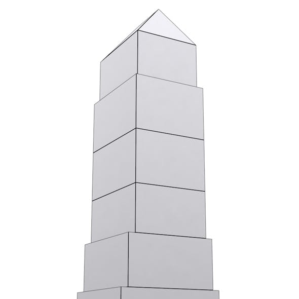 Low Poly Tower 2