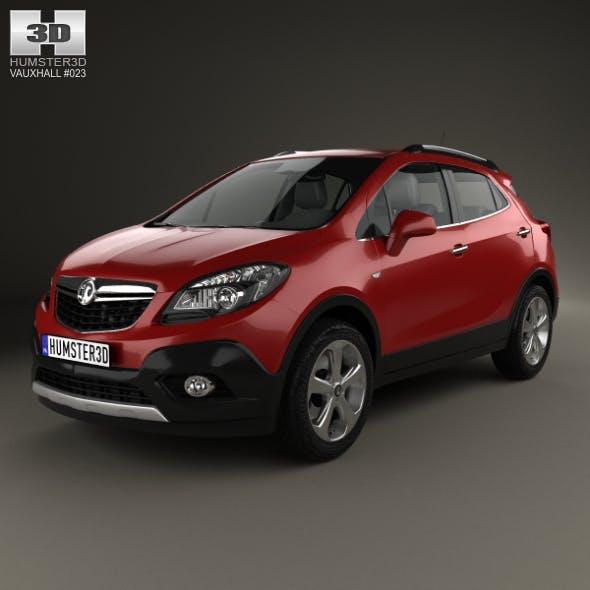 Vauxhall Mokka 2013 - 3DOcean Item for Sale