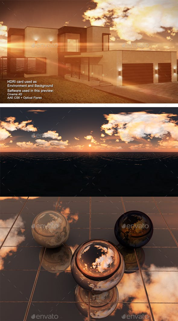 Sunset Sea 1 - 3DOcean Item for Sale